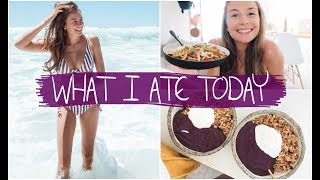 WHAT I ATE TODAY -  why I started eating more salt...