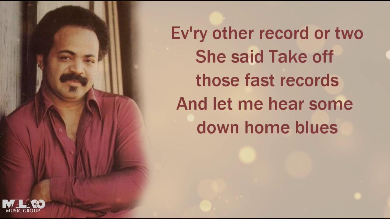 ZZ Hill - Down Home Blues (Lyric Video)