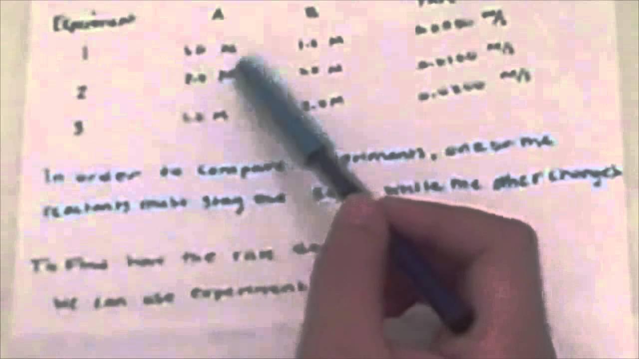 Iodine Clock Reaction Lab Answers - SchoolWorkHelper