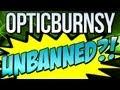 OpTicBurnsy UNBANNED OR HACKED!?