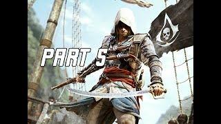 Assassin's Creed 4 Black Flag Walkthrough Part 5 - Proper Defenses (PC AC4 Let's Play)