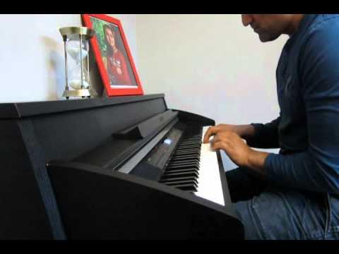 aye mere hamsafar ik zara intezaar - piano