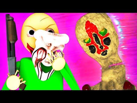 Балди vs SCP 2: ФЕЙК Скульптура (SCP 173 Ной Анимация 3D)