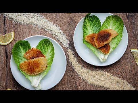 ???? Vegane Kohlrabischnitzel mit Pankomehl