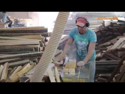 Процесс производства диванов