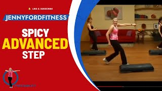 SPICY STEP - STEP AEROBICS - (Advanced) - JENNY FORD