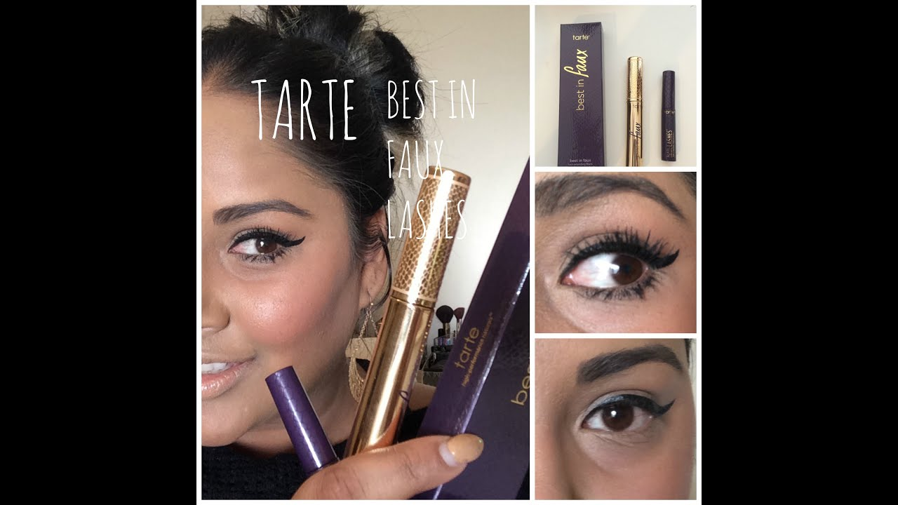 Tarte | Best in Faux Lashes FIBER LASHES - YouTube