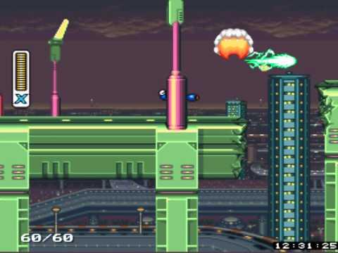 Mega Man X | Mision 1 Parte 1 Vile - Vava| Zsnesw