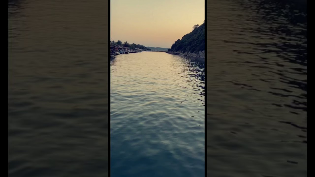 نهر اغوا الذي يصب في البحر الاسود