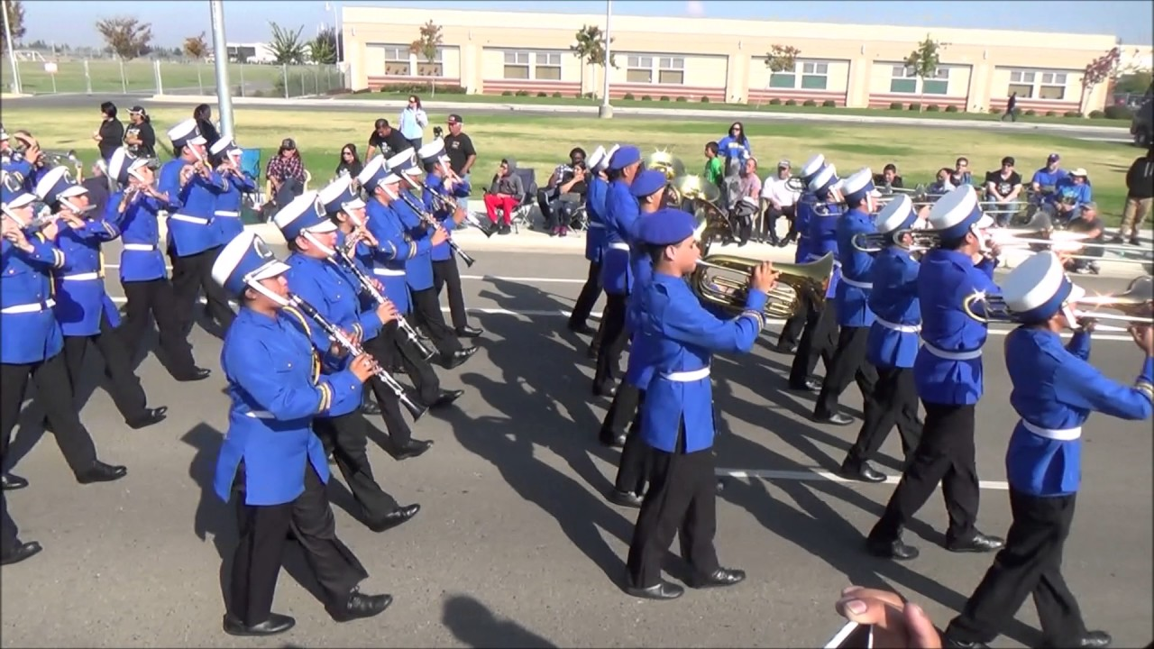 Mt  Eden Monarch Marching Band @ 2016 San Joaquin Valley Tournament of Bands