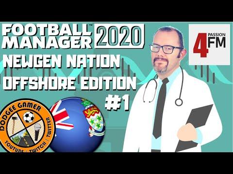 FM20 - Newgen Nation: Offshore Edition (Cayman Islands regen experiment) Football Manager 2020