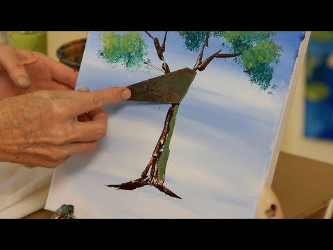 How to Use a Palette Knife | Acrylic Painting