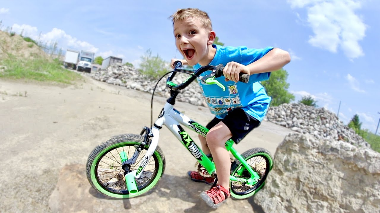 Download Father & Son BICYCLE RIDING TEST!