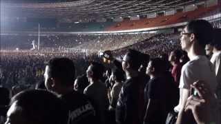 METALLICA Live in Jakarta - 25 Agustus 2013 ( Nothing Else Matters , Enter Sandman ) HD