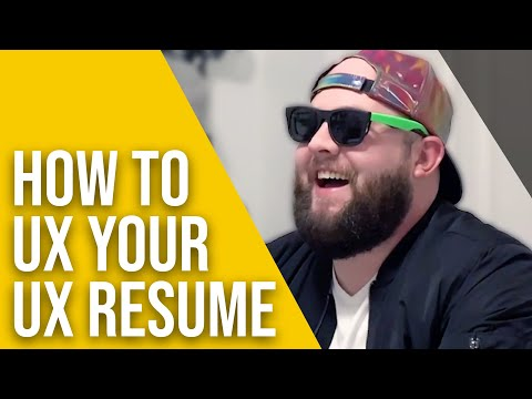 How To UX Your UX Resume - Designed Today Ep. 12
