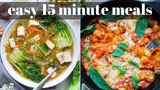 DELICIOUS 15 MINUTE MEALS [VEGAN] | PLANTIFULLY BASED