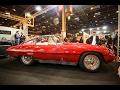 Super rare 1957 Alfa Romeo 3500 Super Sport at Retromobile Paris 2017
