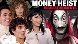 The Cast of 'Money Heist' Breaks Down the Show's Biggest Moments | GQ