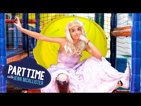 JennXPenn Becomes A Princess | Part Time W/Jenn McAllister