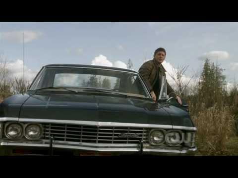 Supernatural 5x22 (season finale) - Dean & the Impala rocking all the way!