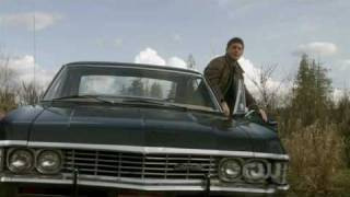 Supernatural 5x22 (season finale) - Dean & the Impala rocking all the way!
