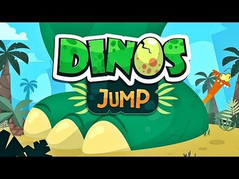 Dinos Jump 🐉 Dinosaur Game App for Kids