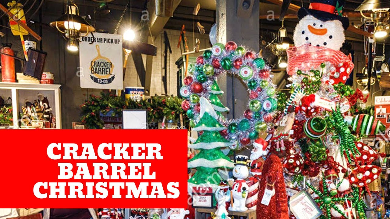 Cracker Barrel Christmas.Christmas At Cracker Barrel Shop With Me