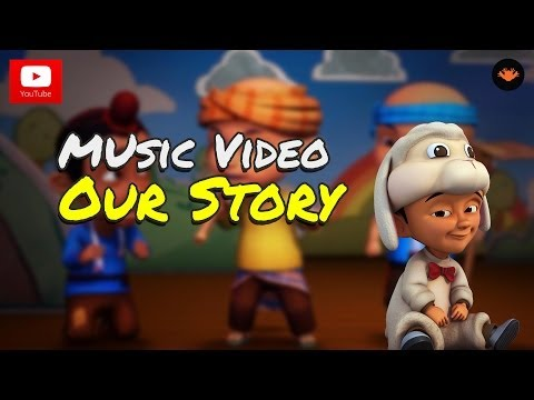 Upin & Ipin S6 - Our Story (Singing Part) Travel Video