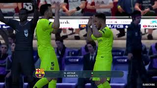 Barcelona vs Tottenham Malcom Scored 2 Goals 2018 Gameplay