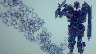 PEEING TRANSFORMER!? - Besiege Alpha Sandbox