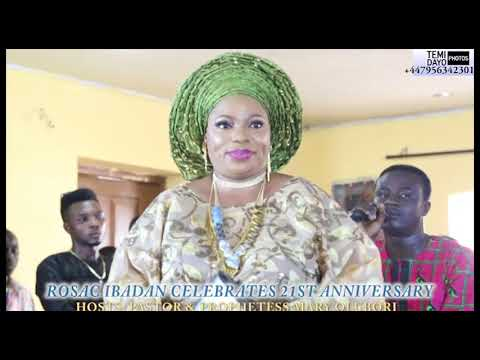 YINKA AYEFELE PERFORMS LIVE FOR PASTOR & PROPHETESS OLUBORI @ HAVILLAH @ 21