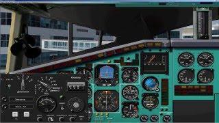 FSX   Ту 144 Д   TU 144D   Установка і передполітна підготовка   План польоту   Manual   Tutorial