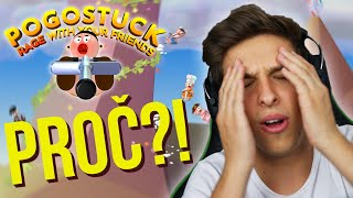 GETTING OVER IT V MULTIPLAYERU?! 😡  | Pogostuck w/ Popcorn