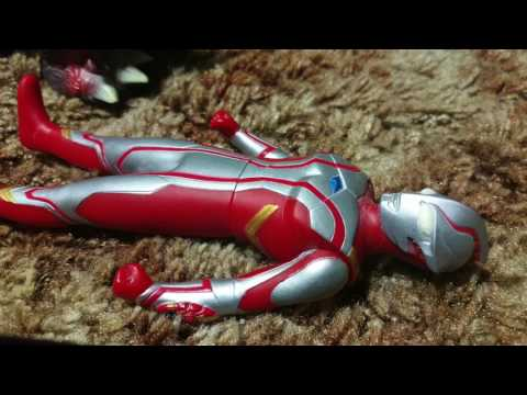 Ultraman Mebius VS Destroyah (STOP MOTION!)