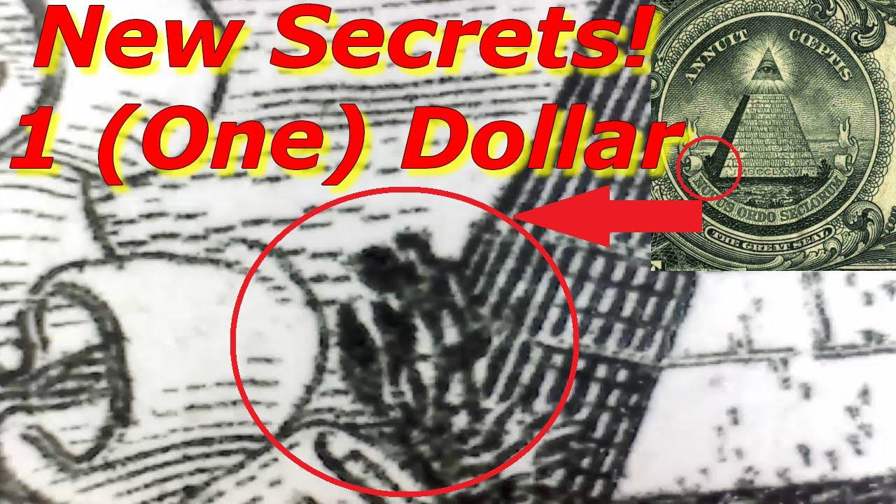 New Dollar Bill Secret! Amazing! - YouTube Dollar Bill Alien Secrets