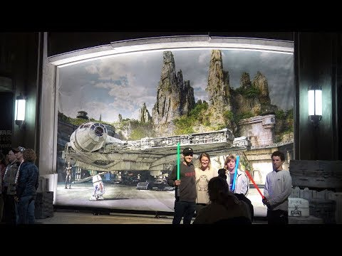 Entrance Revealed! - Star Wars Galaxy's Edge - Barrier Comes Down - Disney's Hollywood Studios