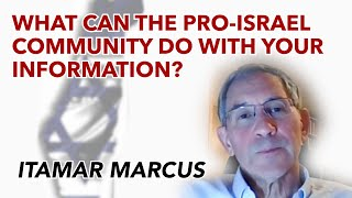 What can the pro-Israel community do with Palestinian Media Watch's information?