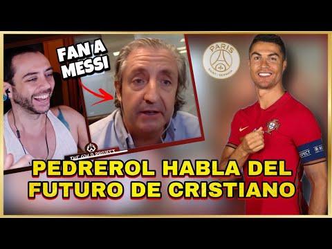 🔥 Josep PEDREROL habla del Futuro de CRISTIANO y TIENE OFERTAS   Ahora es FAN A MESSI 😱