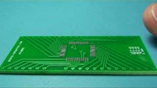QFP IC Prototyping [1 of 2] - Solder Paste and Chip Placement