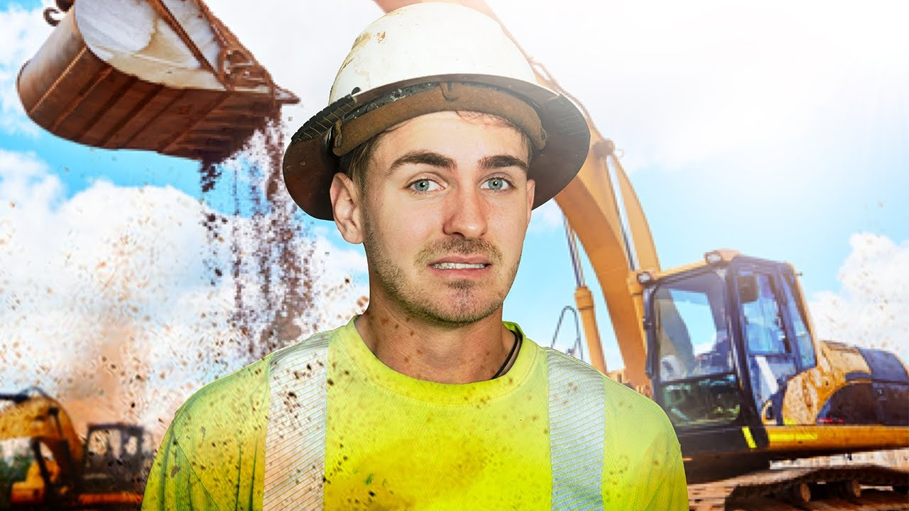 Goofy The Construction Worker