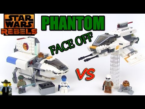 Rebels Phantom Face Off Lego Review & Comparison