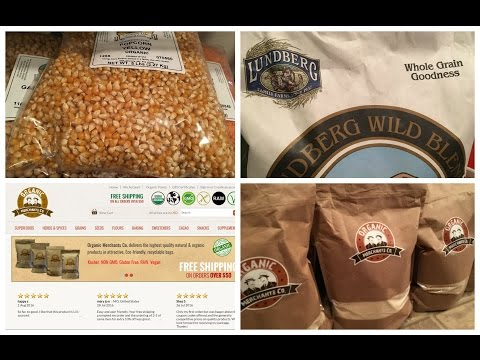 Online Organic Grocery Haul and Pantry Tour