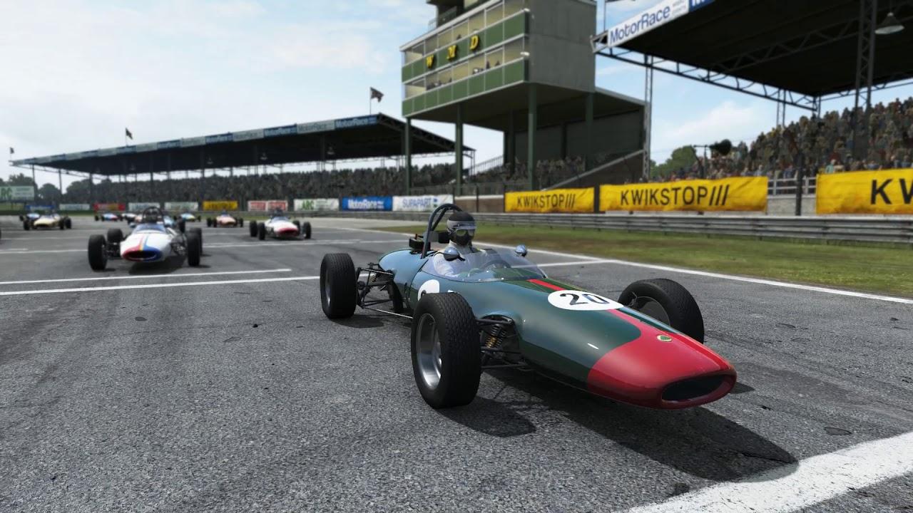 Project CARS Career Invitation : Lotus Vintage Formula Challenge ...