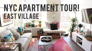 NYC East Village Apartment Tour