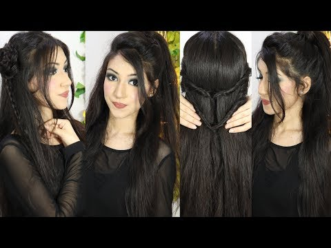 New Beautiful Easy Hairstyle For Party Or Wedding | Long Hairstyles For Girls