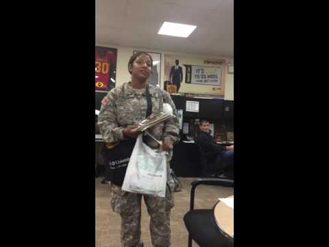 Fake Colonel Goes Into Recruiting Office Looking For Free Ride