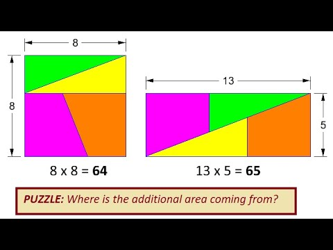 Geometry with MicroStation Missing Area Puzzle