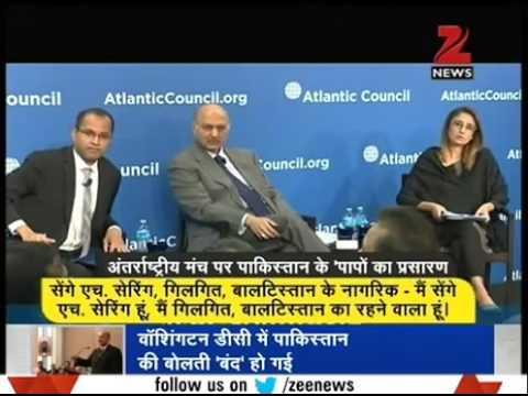 Pakistani sansad Mushahid Hussain Syed In Atlantic Council