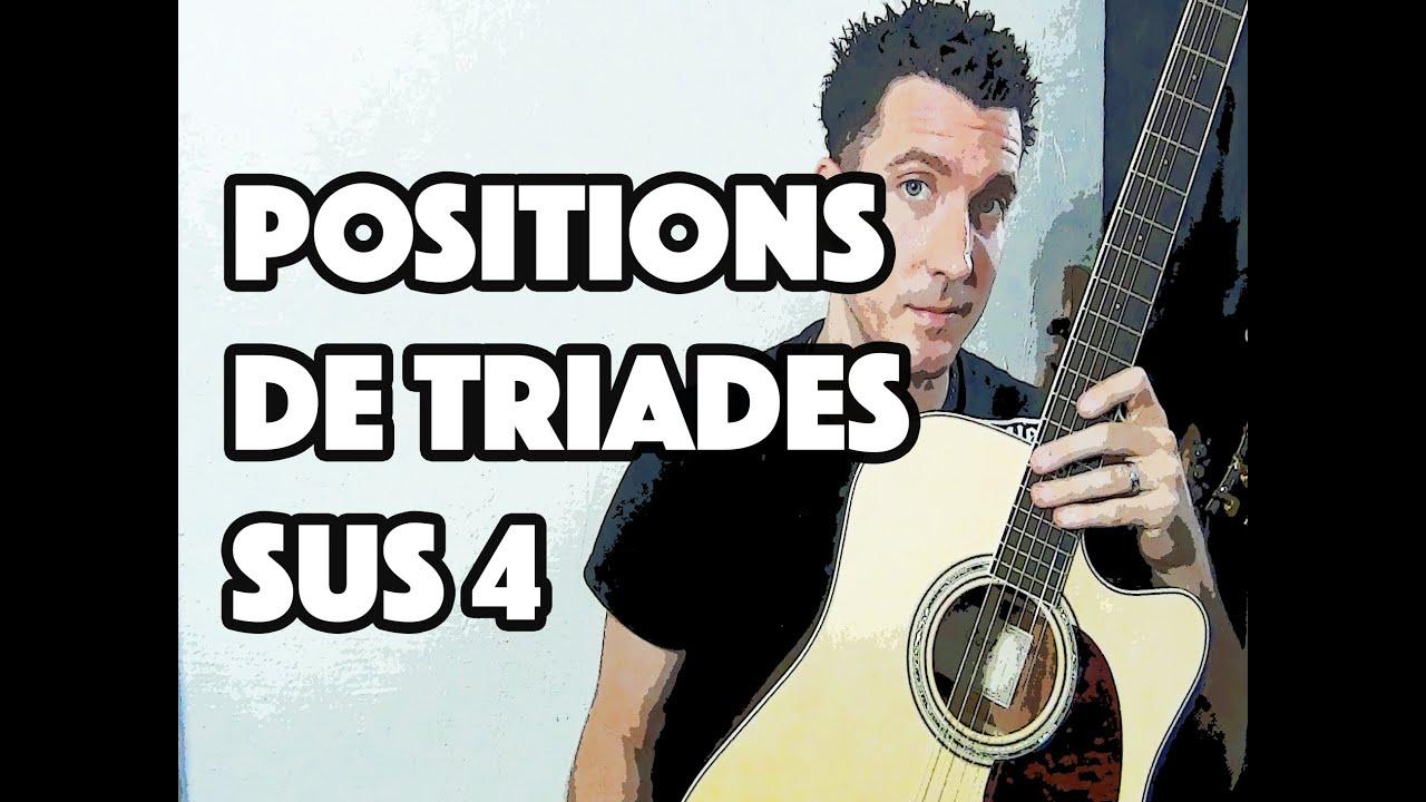 LA TRIADE SUS4 - LE GUITAR VLOG 016