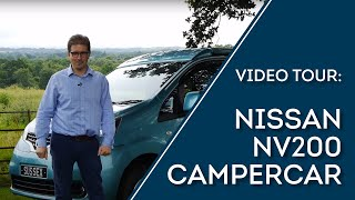 Nissan NV200 CamperCar VW Campervan Camper van Surf Bus Pop Compact Small UK VW T4 T5 T6 Bongo NV200